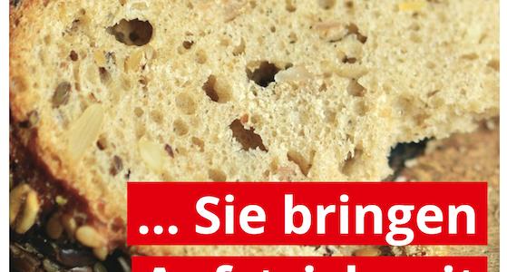 Die SPD backt das Brot – Sie bringen den Aufstrich mit!