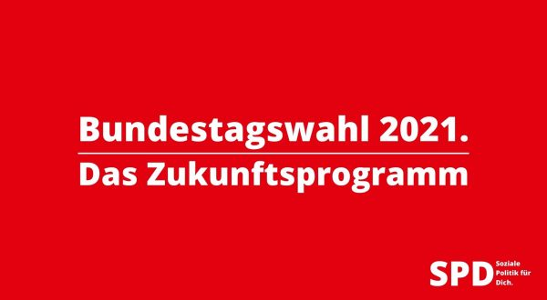 Das Zukunftsprogramm der SPD